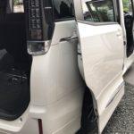 車内嘔吐(ゲロ)処理クリーニング トヨタヴォクシー 車ルーム・シートクリーニング滋賀・京都