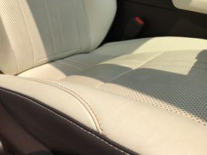 黒ずみ レクサスRX セミアニリン本革シートのクリーニング 車ルーム・シートクリーニング滋賀 滋賀県長浜市