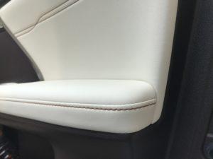 汚れ・黒ずみ レクサスRX セミアニリン本革シートのクリーニング 車ルーム・シートクリーニング滋賀 滋賀県長浜市