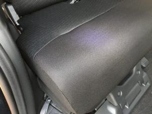 処理後 車内嘔吐(ゲロ)処理クリーニング トヨタ タンク セカンドシート 車ルーム・シートクリーニング滋賀・京都