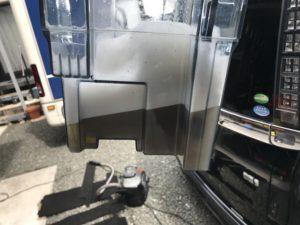 回収廃液 生ゴミの汁が漏れた・・清掃消臭抗菌処理クリーニング トヨタ ヴォクシー セカンドシートフロアマット 車ルーム・シートクリーニング滋賀・京都